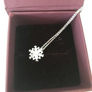 New 925 silver with crystal women necklace